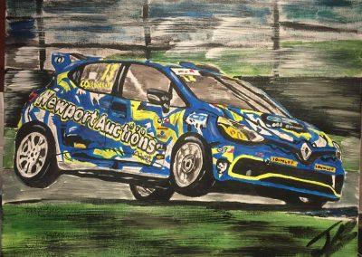 Josh Cook - Renault Clio